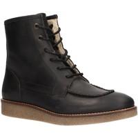 Zapatos Mujer Botas de caña baja Kickers 736640-50 ZENZOU Negro