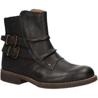 Zapatos Niños Botas de caña baja Kickers 572701-30 SMATCHY Negro