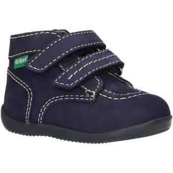 Zapatos Niños Botas de caña baja Kickers 620739-10 BONKRO-2 Azul