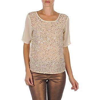 textil Mujer Camisetas manga corta Vero Moda IXUS Beige