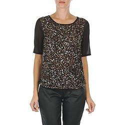 textil Mujer Camisetas manga corta Vero Moda IXUS Negro