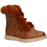 Zapatos Niña Botas de nieve MTNG 47860 Marr?n