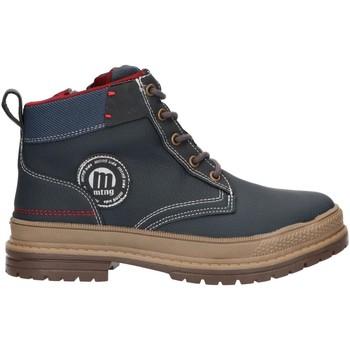 Zapatos Niños Botas de caña baja MTNG 47906 Azul