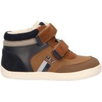 Zapatos Niño Zapatillas altas Mayoral 42066 Marr?n