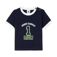 textil Niño camisetas manga corta Petit Bateau FUDGE Azul