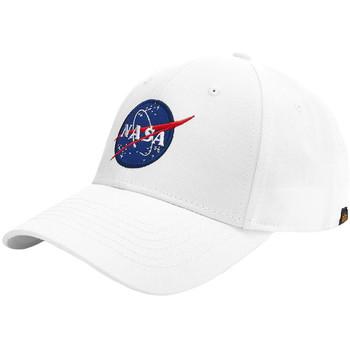 Accesorios textil Gorra Alpha NASA Cap Blanco