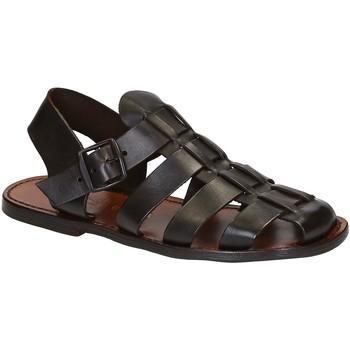 Zapatos Hombre Sandalias Gianluca - L'artigiano Del Cuoio 502 U MORO CUOIO Testa di Moro