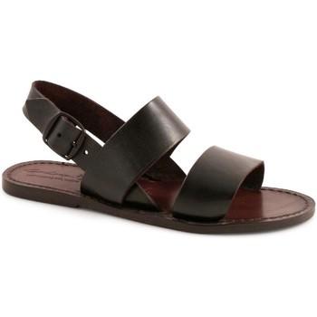 Zapatos Mujer Sandalias Gianluca - L'artigiano Del Cuoio 500X D MORO CUOIO Testa di Moro