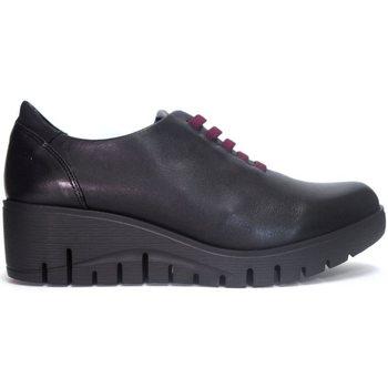 Zapatos Mujer Derbie Fluchos Zapatos  F0698 Negro Negro