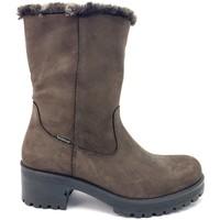 Zapatos Mujer Botas de nieve Imac 409628 PIEL MARRON MARRON