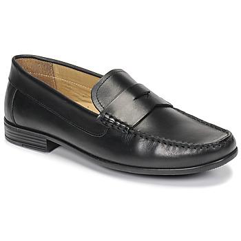Zapatos Hombre Mocasín André OFFICE Negro