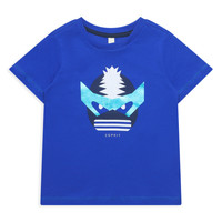 textil Niña camisetas manga corta Esprit ENORA Azul