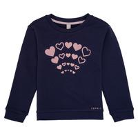 textil Niña Sudaderas Esprit ESTER Marino