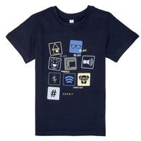 textil Niño camisetas manga corta Esprit ENZIEO Marino