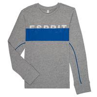 textil Niño Camisetas manga larga Esprit FABIOLA Gris