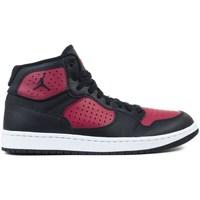 Zapatos Hombre Baloncesto Nike Jordan Access Negros, Rojos