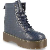 Zapatos Mujer Botines Sergio Todzi LDH007 Azul