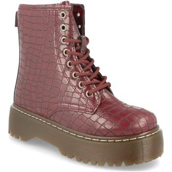 Zapatos Mujer Botines Sergio Todzi LDH007 Burdeos