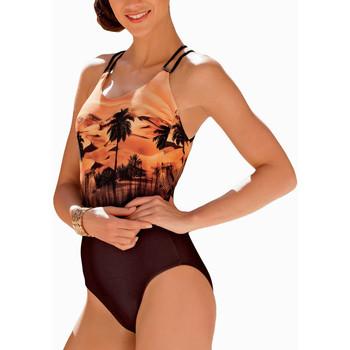 textil Mujer Bañador Lisca Traje baño 1 pieza Copacabana naranja Naranjaange