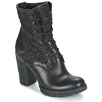 Zapatos Mujer Botines Bunker ACE MEGA Negro