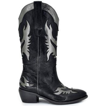Zapatos Mujer Botas urbanas Exé Shoes BOTAS WEST DETALLES PLATA DALLAS-912