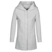 textil Mujer Abrigos Moony Mood ADELINE Gris / Claro