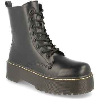 Zapatos Mujer Botas de caña baja Lala 2AD-9362 Negro
