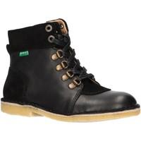 Zapatos Niños Botas de caña baja Kickers 736370-30 KICK HOOD Negro