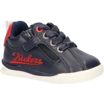 Zapatos Niños Zapatillas bajas Kickers 597374-10 CHICAGO BB Azul