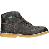 Zapatos Mujer Botas de caña baja Kickers 660247-50 KICK LEGEND Gris
