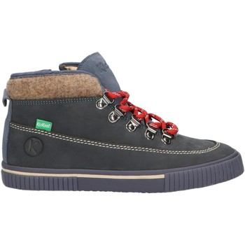 Zapatos Niños Botas de caña baja Kickers 736510-30 PANPA Azul