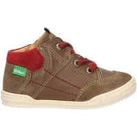 Zapatos Niños Botas de caña baja Kickers 735800-10 JAD Verde