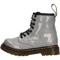 Zapatos Niños Botas de caña baja Dr Martens - Anfibio argento 1460 GLITTER ARGENTO