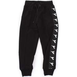 textil Niño Pantalones de chándal Diadora - Pantalone nero 021345-110 NERO