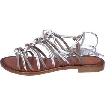 Zapatos Mujer Sandalias Inuovo sandalias cuero gris