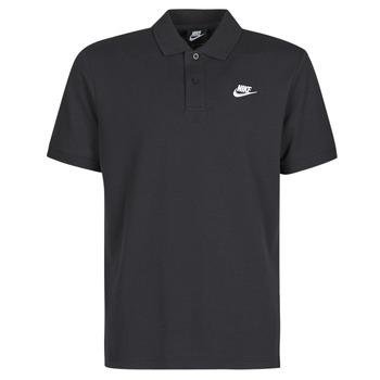 textil Hombre polos manga corta Nike M NSW CE POLO MATCHUP PQ Negro / Blanco