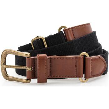Accesorios textil Hombre Cinturones Asquith & Fox AQ902 Negro