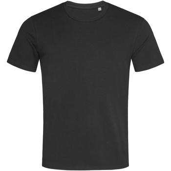 textil Hombre Camisetas manga corta Stedman  Negro opal