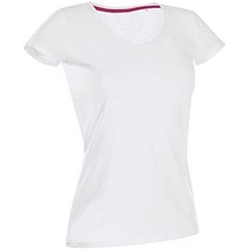 textil Mujer Camisetas manga corta Stedman Stars Claire Blanco