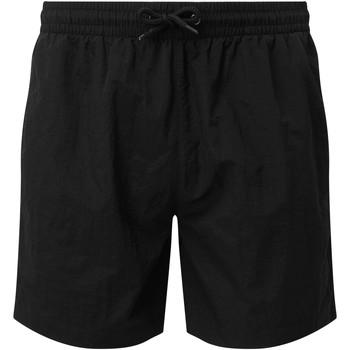 textil Hombre Shorts / Bermudas Asquith & Fox AQ053 Blanco/Negro