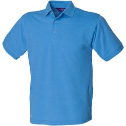 textil Hombre Polos manga corta Henbury HB400 Azul medio