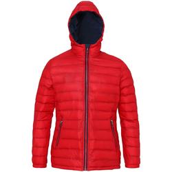 textil Mujer Plumas 2786 TS16F Rojo/ Azul marino