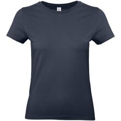 textil Mujer Camisetas manga corta B And C E190 Azul real