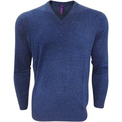 textil Hombre Jerséis Henbury Marl Azul