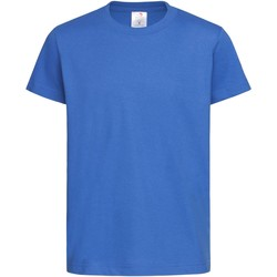 textil Niños Camisetas manga corta Stedman  Azul royal