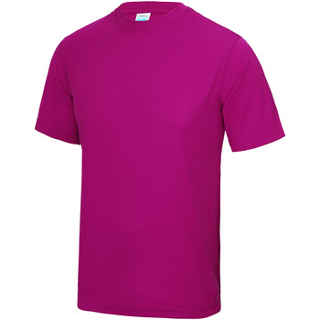 textil Niños Camisetas manga corta Awdis JC01J Rosa Fuerte