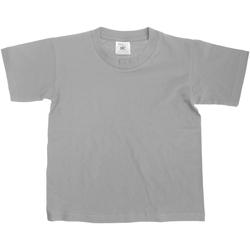 textil Niños Camisetas manga corta B And C TK300 Gris Sport