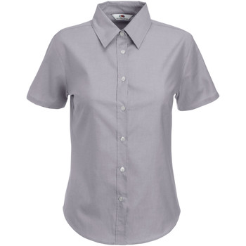 textil Mujer Camisas Fruit Of The Loom 65000 Gris Oxford