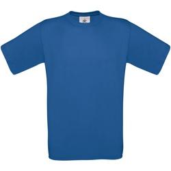 textil Hombre Camisetas manga corta B And C TU004 Azul eléctrico