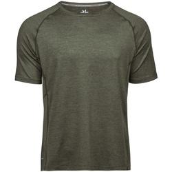 textil Hombre Camisetas manga corta Tee Jays TJ7020 Oliva jaspeado